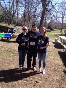 Event Organizer Kenny with Kaitlyn and Tori
