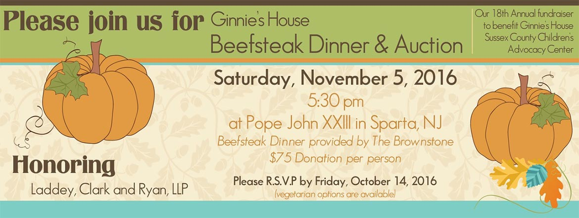 Ginnie's House Beefsteak Dinner 2016